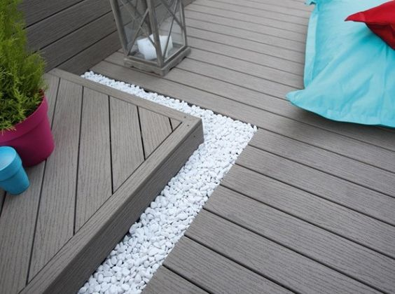 Terrasse on pinterest for Idee de terrasse en composite