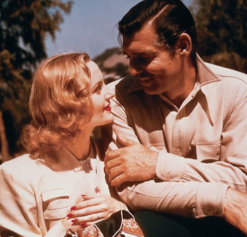 Lombard and Gable. I love them as a couple. Sad her life was tragical cut short.