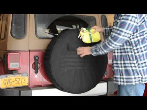 37 Inch Molle Tactical Spare Tire Cover Retrofit Offroad