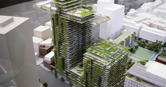 Austrália constrói jardim vertical mais alto do mundo.