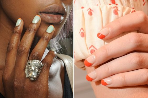 Daily Inspiration: The Reinvented French Manicure (Photo: Luca Cannonieri/GoRunway; OPI)