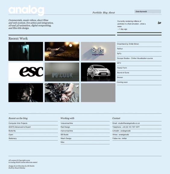 Analog Studio | Web