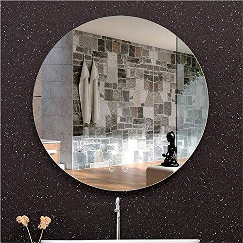 Ryan S Led Light Smart Bathroom Mirror Electronic Anti Fog Touch Double Switch Bluetooth Audio Greenhouse And In 2020 Led Lights Bathroom Mirror Round Mirror Bathroom