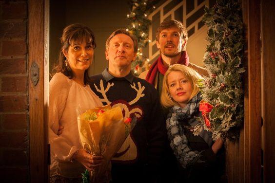 Still of Fiona Dolman, Neil Dudgeon, Tamzin Malleson and Gwilym Lee in Midsomer Murders (1997)