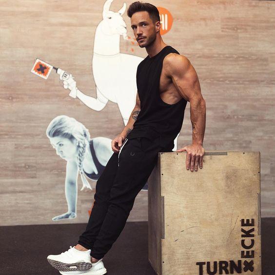 💪 #GymStyle: Daniel Magic_Fox (@magic_fox) do Blog The Modern Man. 👊 ●● #GBlovers #GBinspira: