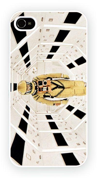 2001: A Space Odyssey - Corridor Cas de telephone portable pour l'iPhone 4, 4S, 4, 5S, 5C et Samsung Galaxy S4 Retour couverture rigide - pas de telephone inclus Moule en polycarbonate dur couverture arriere avec l'image imprimee comme le montreCouleur impression directe est fondu et resistant aux rayures et offre une protection aux chocs et impactsSimple et facile snap sur l'installation d'un acces complet a la camera et portsGratuit Livraison dans le monde…