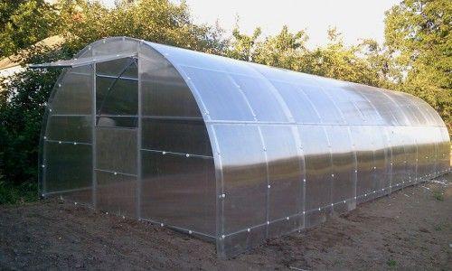 Serre de jardin tunnel de jardinage en polycarbonate 3x6 7164276