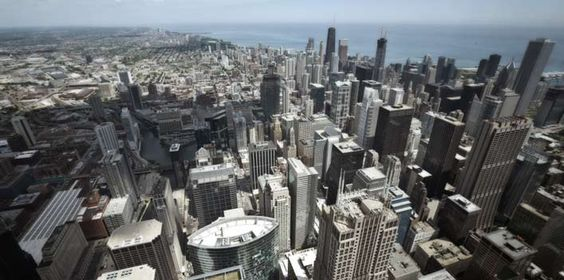 Why not have this as your office view in Chicago?  Willis (Sears) Tower with OfficeLinks.