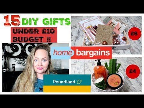Diy Poundland Hampers Xmas Home Bargains Budget Gifts Secret Santa Dollar Tree Haul Youtube Christmas Hacks Diy Budget Gift Xmas Decorations Diy