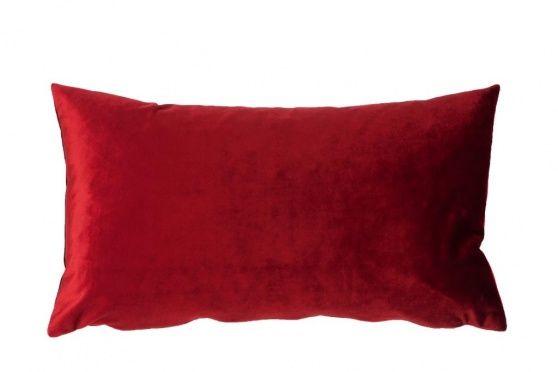 Almofada Veludo Liso Bordeaux - loja gato preto - 35x60cm - 11,15€