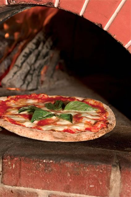 #italianfood #pizza #pizzarecipe Brick oven pizza recipes might sound like they are impossible to do at home, but it is a lot easier than you might think. Once you have gott...
