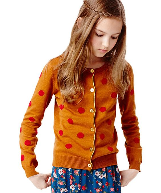 Look at this Ginger Dot Cardigan - Infant, Toddler