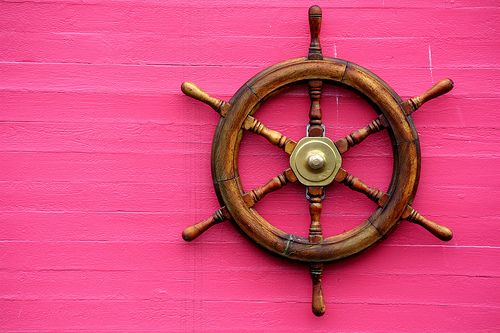 pretty in pink nautical  ⚓ Beach Cottage Life ⚓