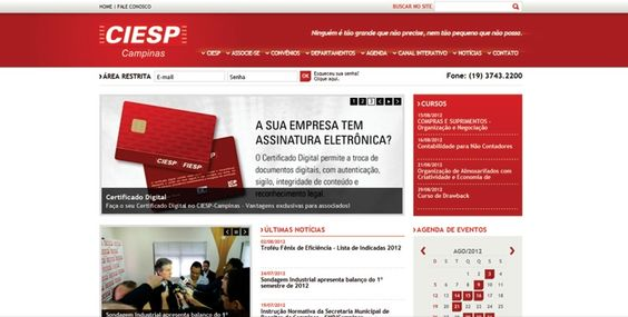 Webdsign - Portfolio - Ciesp