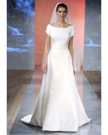 the steven birnbaum collection  Modest Wedding Dress