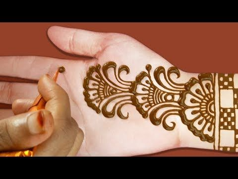 simple easy beautiful mehndi design