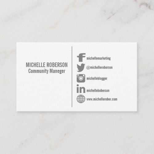 Social Media Icons Template Business Card Zazzle Com Social Media Icons Attorney Business Cards Media Icon