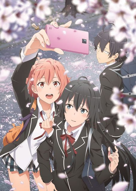 Oregairu Wallpaper : oregairu, wallpaper, Yahari, Seishun, Comedy, Machigatteiru., Season, Oregairu, Anime, Kawaii,, Manga, Anime,, Wallpaper