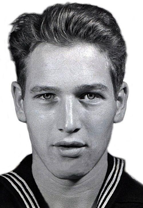 Paul Newman navy photo