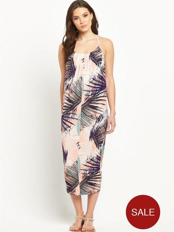 Pin for Later: Diese Palmen-Prints werden euch in tropische Stimmung versetzen  Very Jersey-Kleid mit Palmen-Druck (46 €)