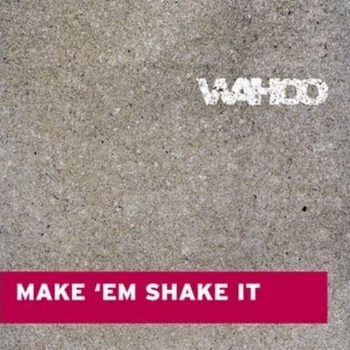 Wahoo – Make Em Shake It (single cover art)