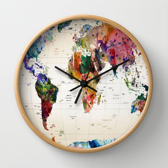 map Wall Clock      https://society6.com/product/map-cnm_wall-clock?curator=sonias1fashion