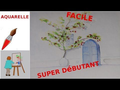 Aquarelle Comment Debuter L Aquarelle Un Tuto Simple Amusant