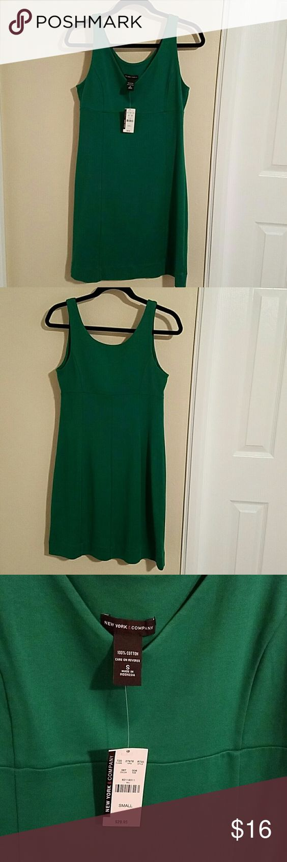 new york company green career dress nwt vestidos new york company green career dress underarm is 16 inches length is 35 inches new york