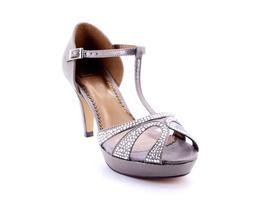 FERRISandalia Ferri De Raso Gris Tacón #shoes #mujer #zapato #bailarina #tendencia #estilo #actualidad