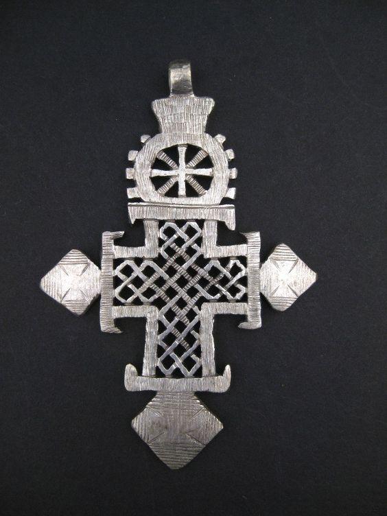 Premium Ethiopian Coptic Cross (Large)