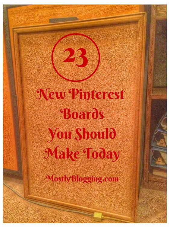 New Pinterest boards for you