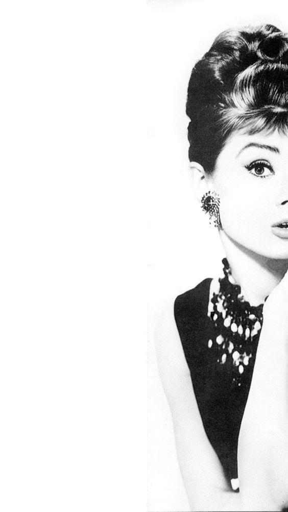 Free Audrey Hepburn iPhone 6 Plus Wallpaper: