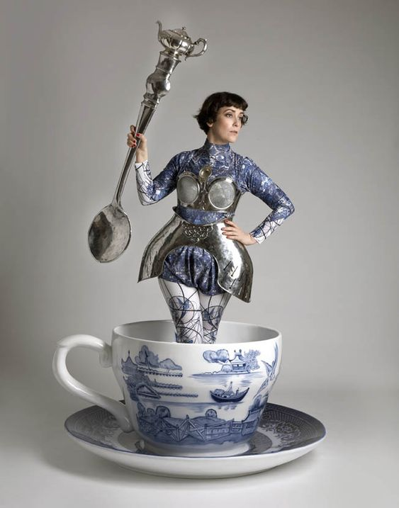 if you are having an alice in wonderland kind of day this teacup series is for you, it made me smile, so have a cuppa