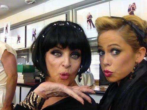 # Sabrina Bryan and Kirstie Alley #Quickstep  #DWTS #The VanBryans