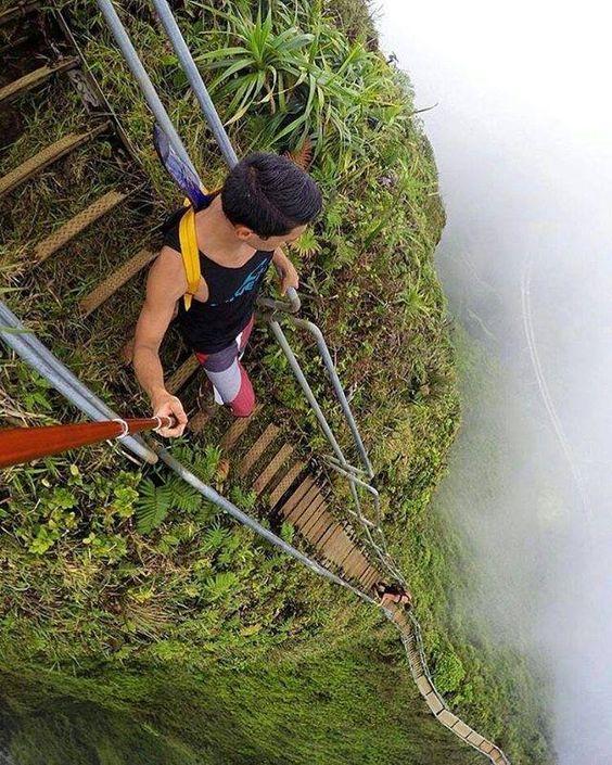 Escalera al Cielo, Hawaii
