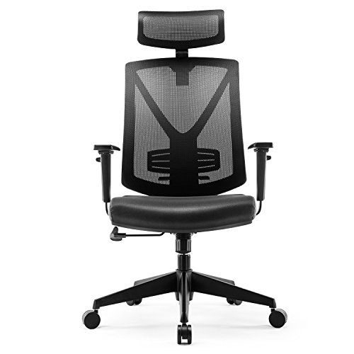 Ergonomic High Back Mesh Office Chair Intey Adjustable Headrest And Lumbar Support Compute Ergonomic Office Chair Best Ergonomic Office Chair Ergonomic Office