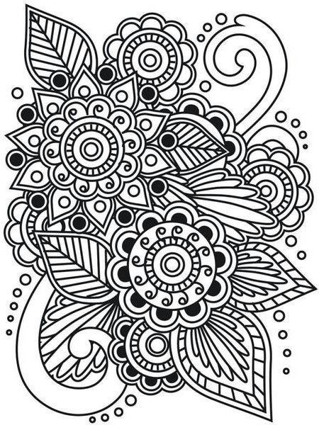 196 Dibujos De Mandalas Para Colorear Faciles Y Dificiles Con