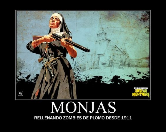 Monjas caza zombies