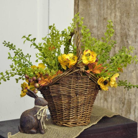 Small Cottage Willow Basket - Natural: Piper Classics