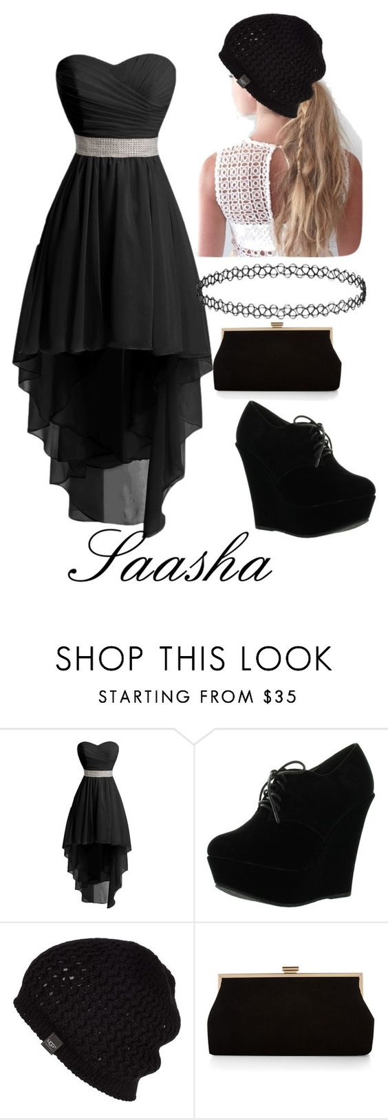 """""""saasha"""" by emilyramme on Polyvore featuring Forever Link, UGG Australia and Monsoon"""