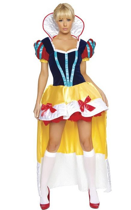 Fantasy Princess Snow White Corset Costume