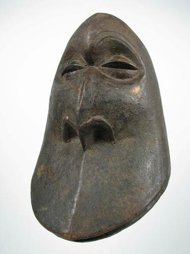 Hemba Gorilla Tribal Mask: