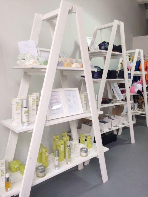 Ladder Shelf 3 Or 4 Tier Shelving Unit Folding A Frame Plant