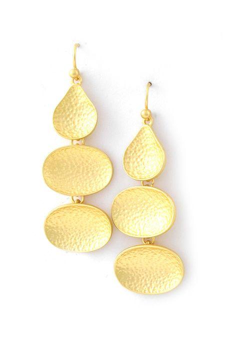 Golden Davida Earrings