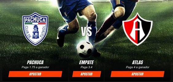 APOSTAR POR PACHUCA VS ATLAS 29 DE OCTUBRE DE 2016 #futbol #mexico #pachuca #atlas http://ift.tt/2efeKXV