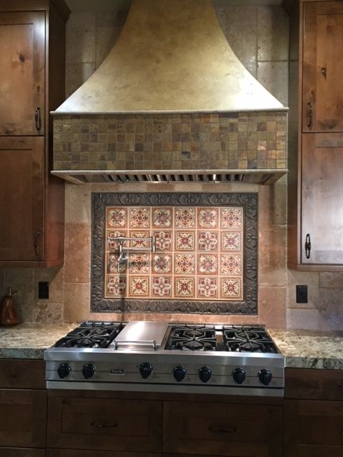 Italian Renaissance Backsplash Tile Set