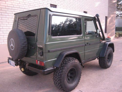 1988 mercedes 300gd gel ndewagen vehicles mercedes g for Mercedes benz gelandewagen for sale