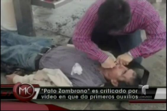 Polémica Con Candidato Mexicano Que Subió Video Supuestamente Salvándole La Vida A Alguien Con Lo Que Él Creía Que Es Primeros Auxilios #Video