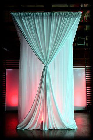 Pvc Gorgeous Back Drop Curtain Backdrop Wedding Backdrops Diy
