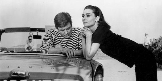 THE HEAVING SURFACE — mrsclarkkent: Audrey Hepburn and Albert Finney...